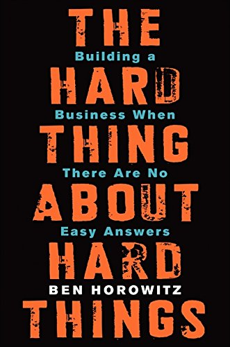 Resource Review: The Hard Thing About Hard Things